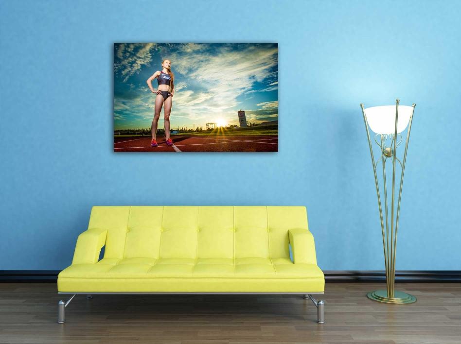 photography wall art living room