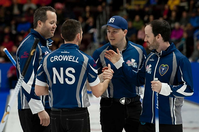 Team Murphy at 2017 Brier