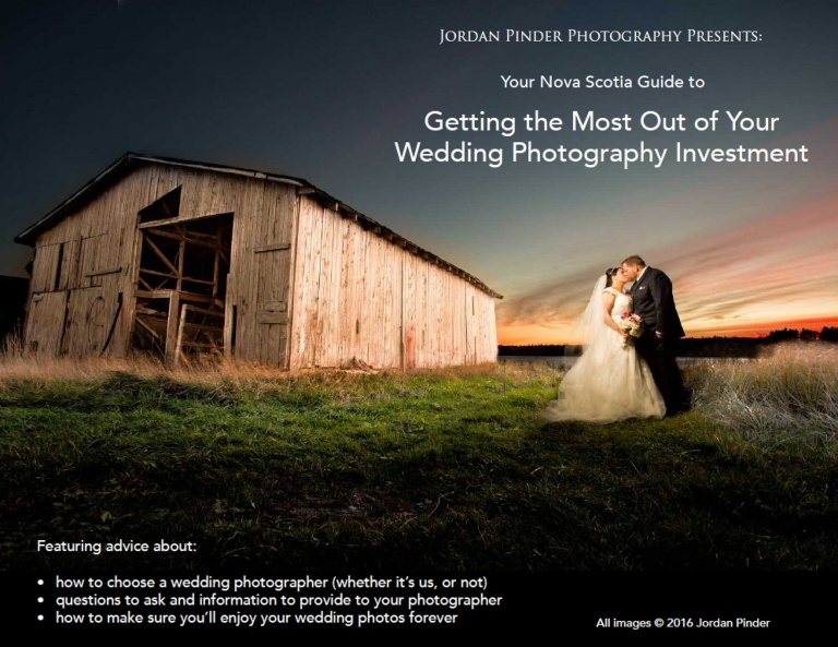Cover photo for Nova Scotia Wedding Photography Guide